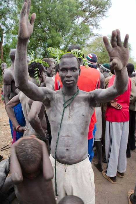 Mieszkańcy Sudanu Południowego. (Fot. Zbyszek Gałęza)