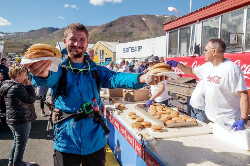 Podróż na Islandię, świeże ryby w Dalvik
