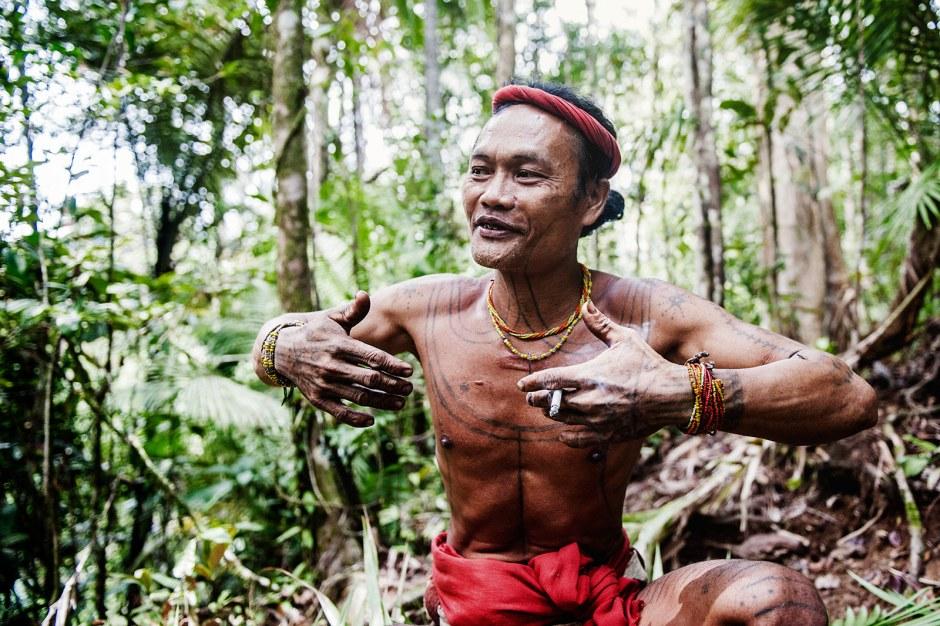 Wyspa Siberut, wśród Mentawajów. Przerwa w polowaniu
