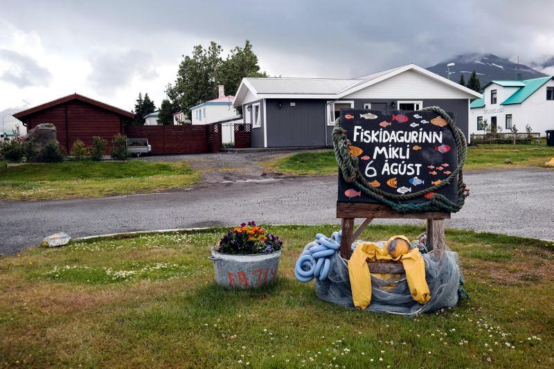 Islandia, Dalvik - zdjęcia z podróży