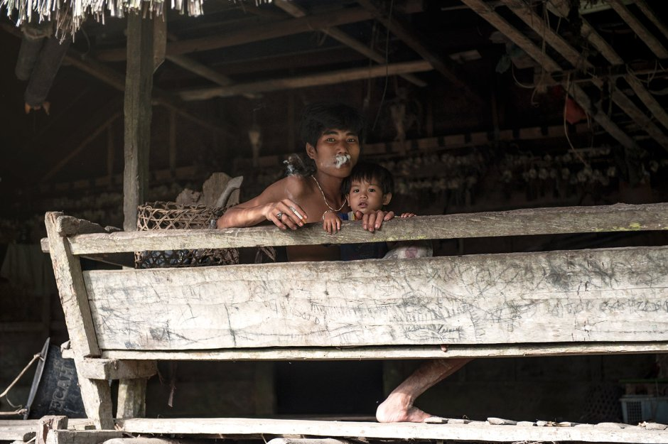 Indonezja, życie codzienne wśród Mentawajów