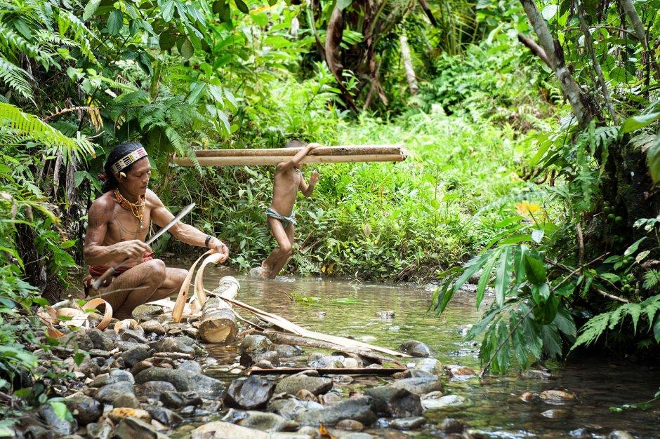 Mentawaje z Indonezji, zdjęcia z wyspy Siberut