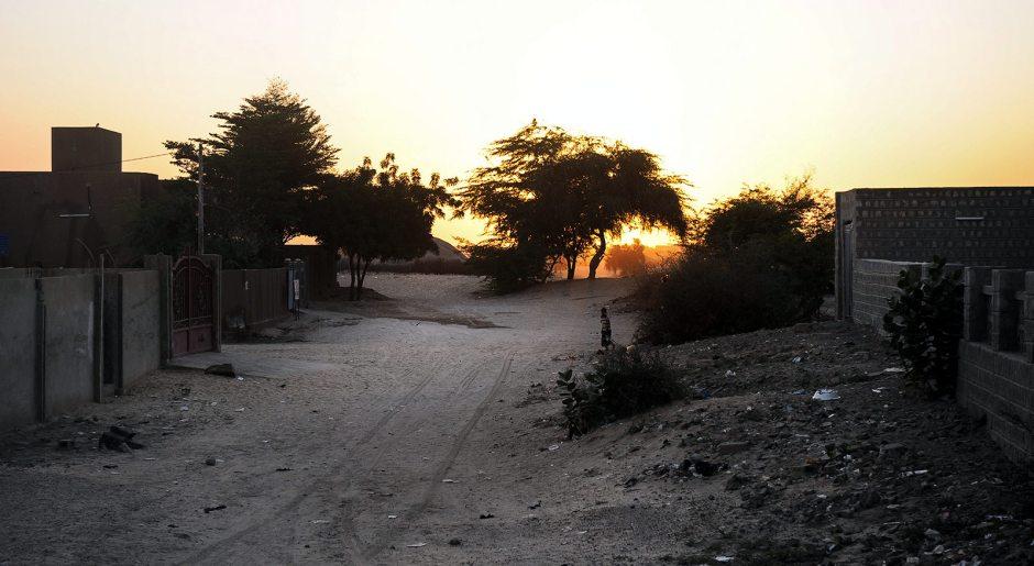 Timbuktu, zachód słońca, zdjęcia z podróży do Mali
