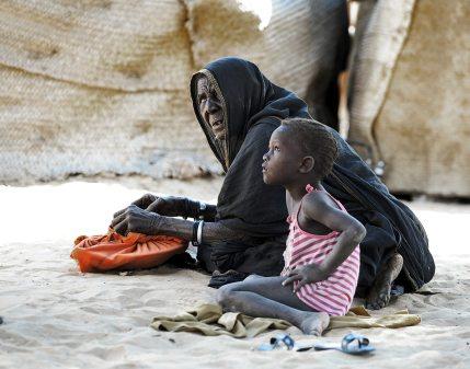 Życie w Afryce, rodzina z Timbuktu w Mali - FOTO