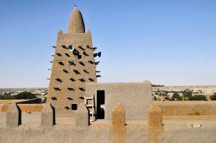 Meczet Djinguereber, Timbuktu, Mali. Zdjęcia z podróży.