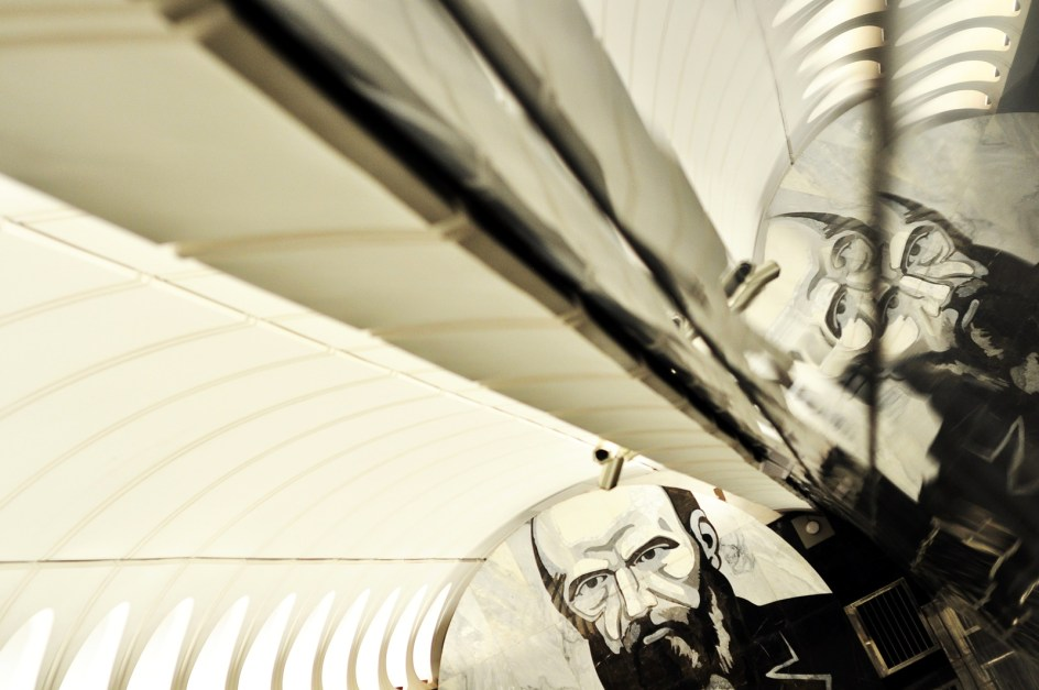 Metro w Moskwie - fotoreportaż