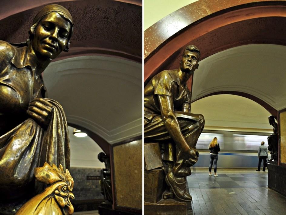Zdjęcia moskiewskiego metra