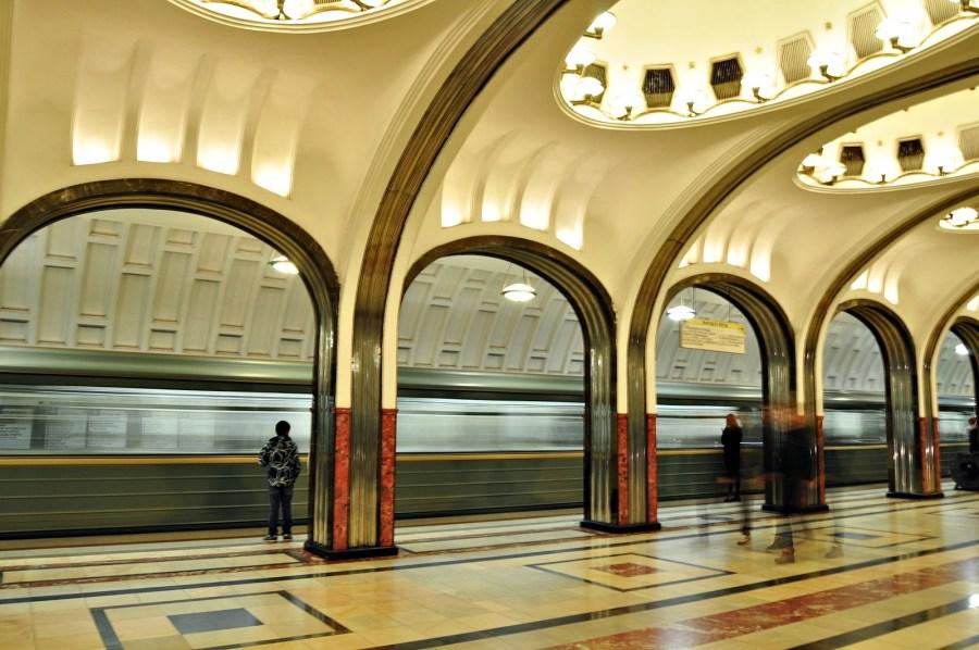 Stacje moskiewskiego metra na zdjęciach