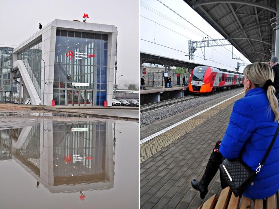 Stacja Izmailowo - zdjęcia z moskiewskiego metra