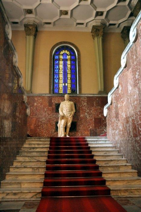 Gruzja, Gori - muzeum Józefa Stalina