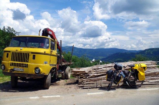 Rowerem przez Rumunię - relacja i zdjęcia