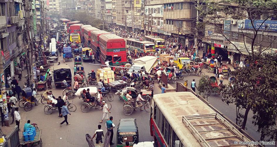 Bangladesz, zdjęcia z Dhaki, podróż