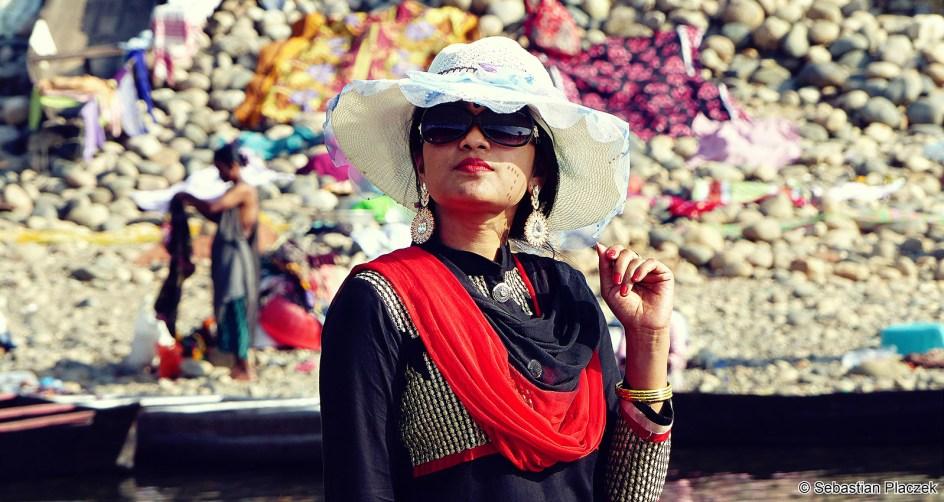 Bangladesz, Jaflong, kobieta