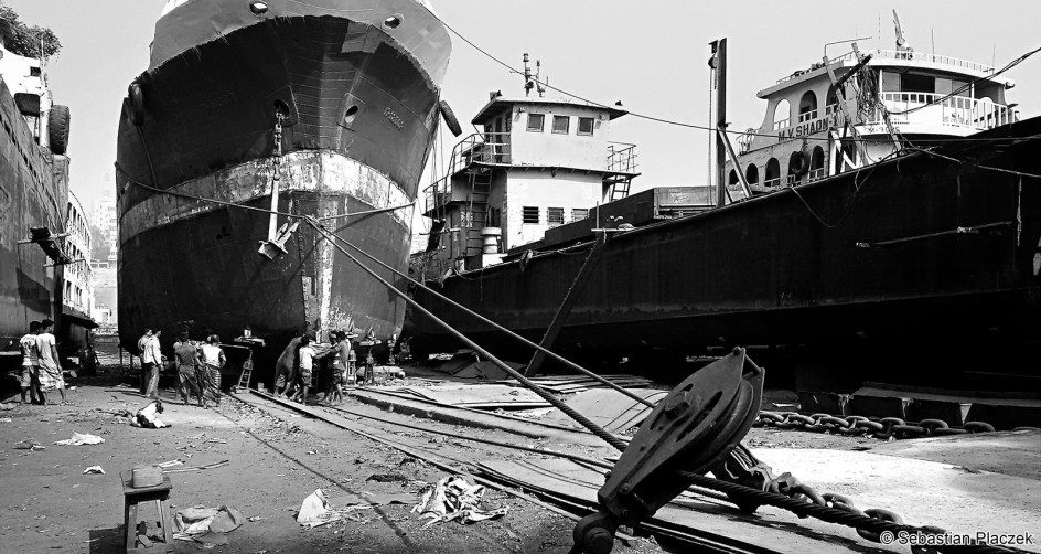 Bangladesz, zdjęcia, podróże, stocznia w Dhace