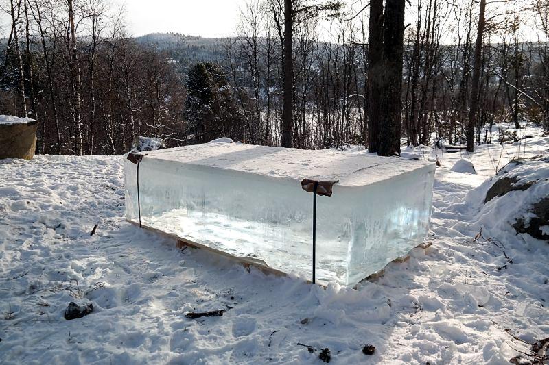 Bryła lodu, Festiwal muzyki lodowej w Geilo w nORWEGII