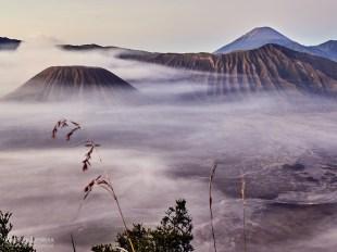 Indonezja, wulkan Bromo o wschodzie słońca, podróże
