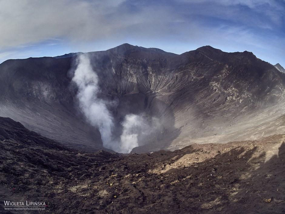 Indonezja, podróże, kaldera, wulkan Bromo