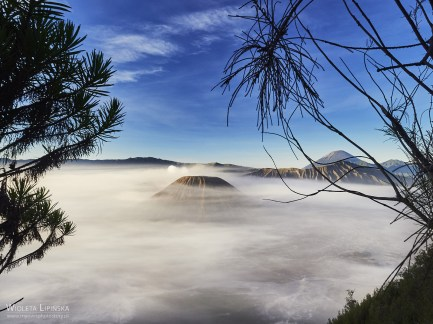 Indonezja, wycieczka na wschód słońca nad wulkanem Bromo