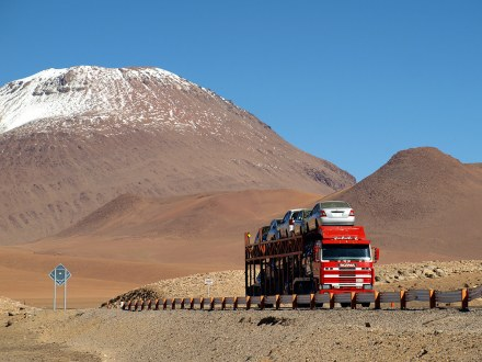 Chile, Atacama, droga do Argentyny