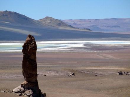 Pustynia Atakama w Chile, Monjes De La Pacana
