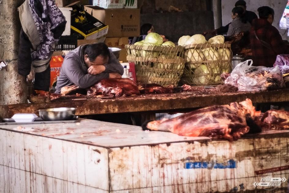 Chiny, Tybet, Ganzi, zdjęcia z bazaru