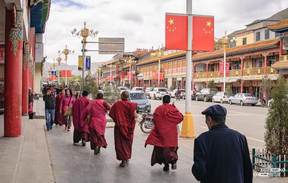 Xiahe, Chiny, pogranicze z Tybetem