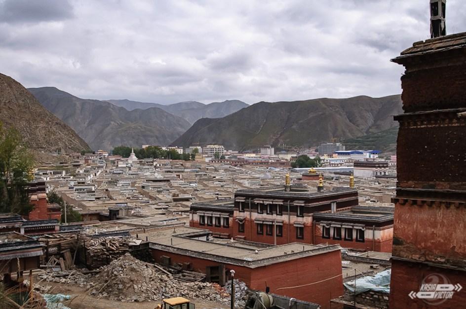 Chiny, Tybet, Xiahe, klasztor Labrang
