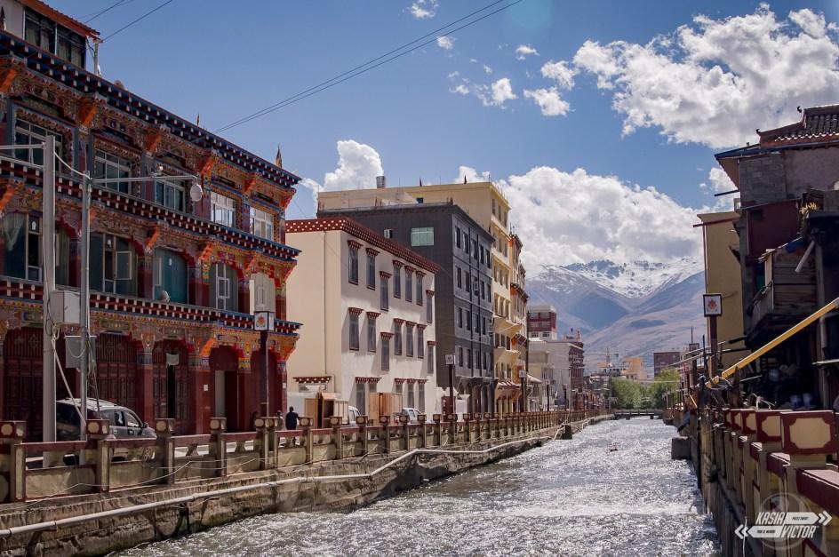 Podróż przez Chiny. Ganzi, miasteczko chińsko-tybetański