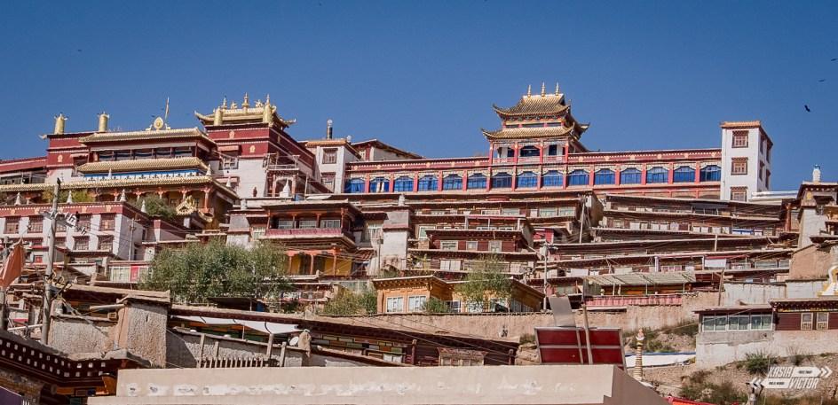 Ganci, miasto w tybetańskich Chinach