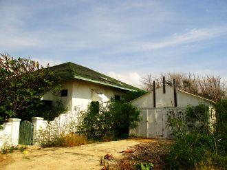 Aruba, opuszczone osiedle mieszkalne w pobliżu rafinerii