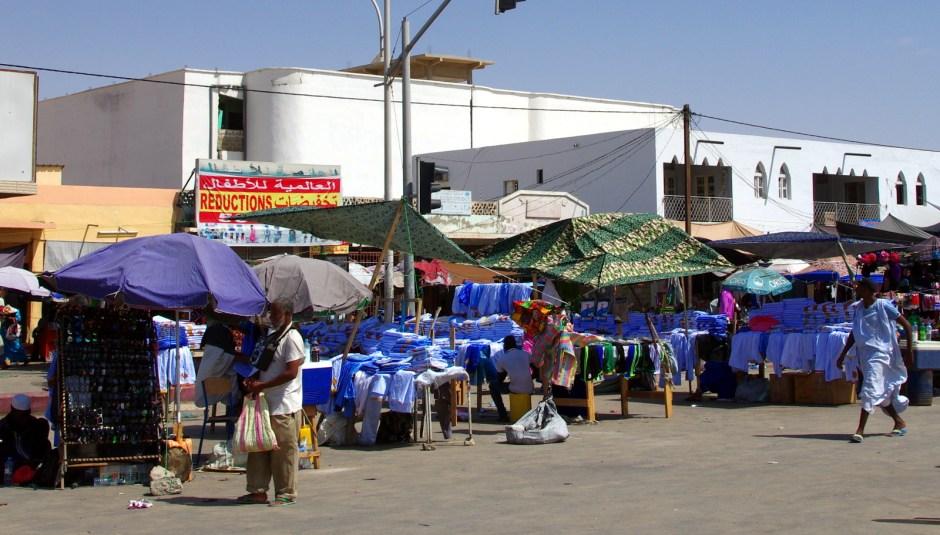 Mauretania, Nawakszut, bazar w stolicy