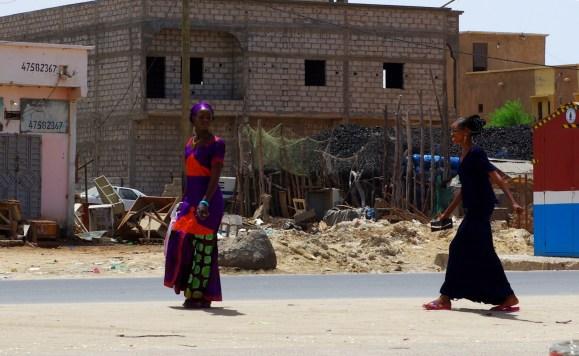 Mauretania, kobiety z Nawakszut, kolorowy islam
