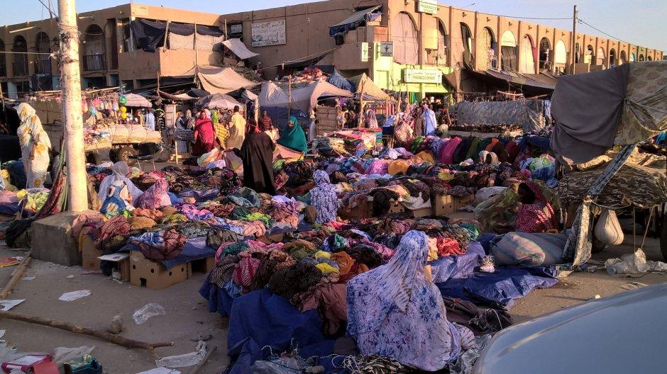 Mauretania, Nawakszut, bazar w stolicy, zdjęcia z podróży do Mauretanii