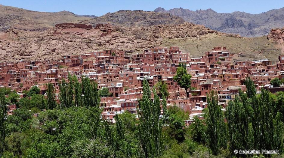 Iran, Abyaneh - jedna z najstarszych irańskich miejscowości - zdjęcia z podróży