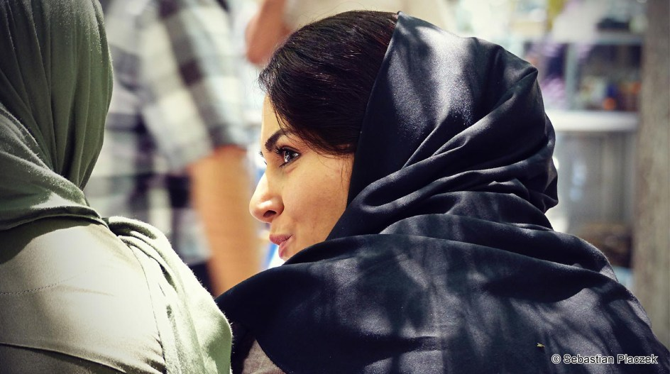 Iran, Teheran, portret kobiety, Iranki