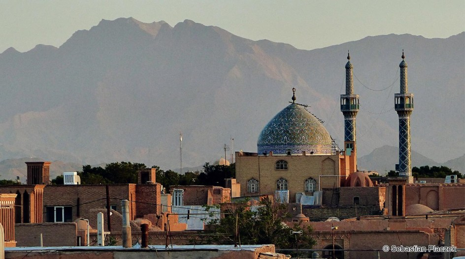 Iran, Jazd, panorama miasta, zdjęcia z podróży