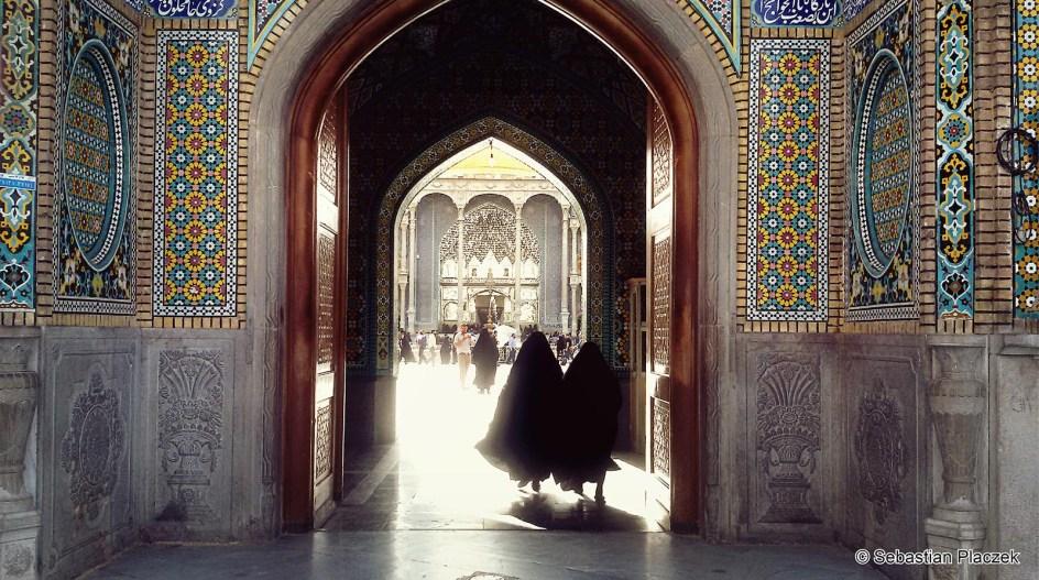 Iran, Kom, Sanktuarium Fatima-al-Masuma - zdjęcia