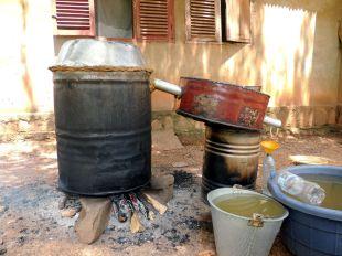 Afryka, produkcja bimbru w RPA, alkohol w podróży