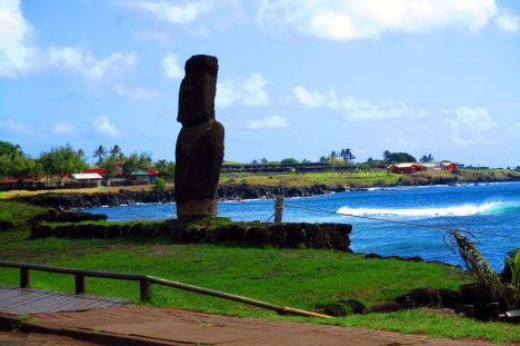 Moai na Wyspie Wielkanocnej, Hanga Roa