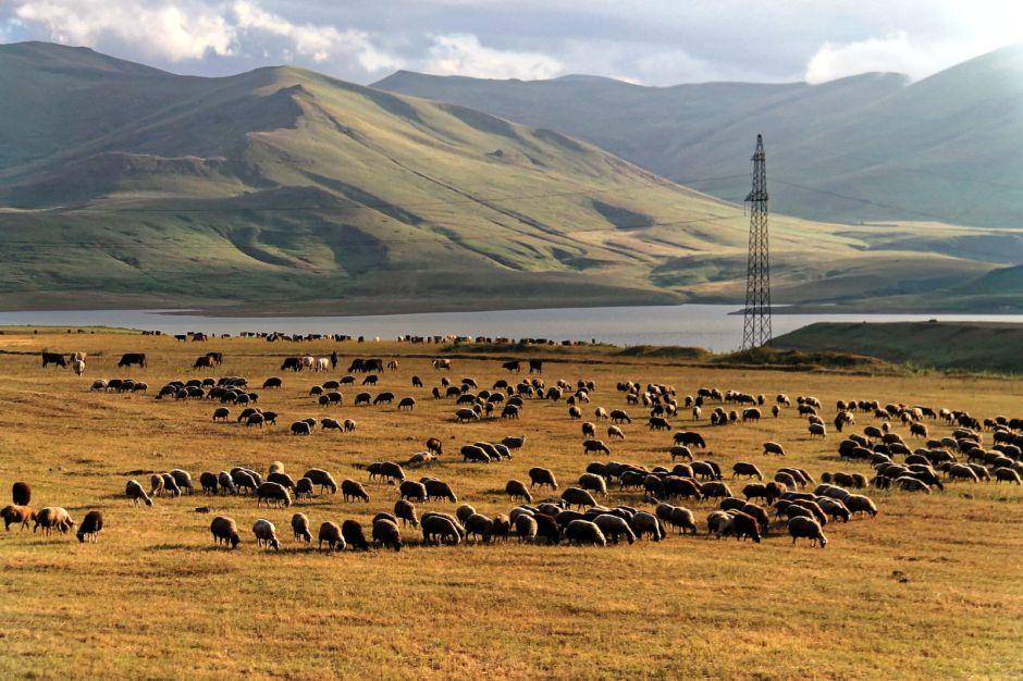 Armenia, podróż na Kaukaz, ktrajobraz