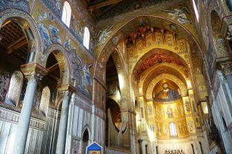 Włochy, Sycylia, podróż, katedra w Monreale