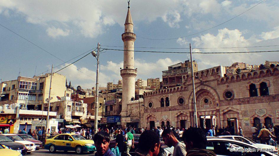Jordania, Amman, foto, Meczet Grand Husseini