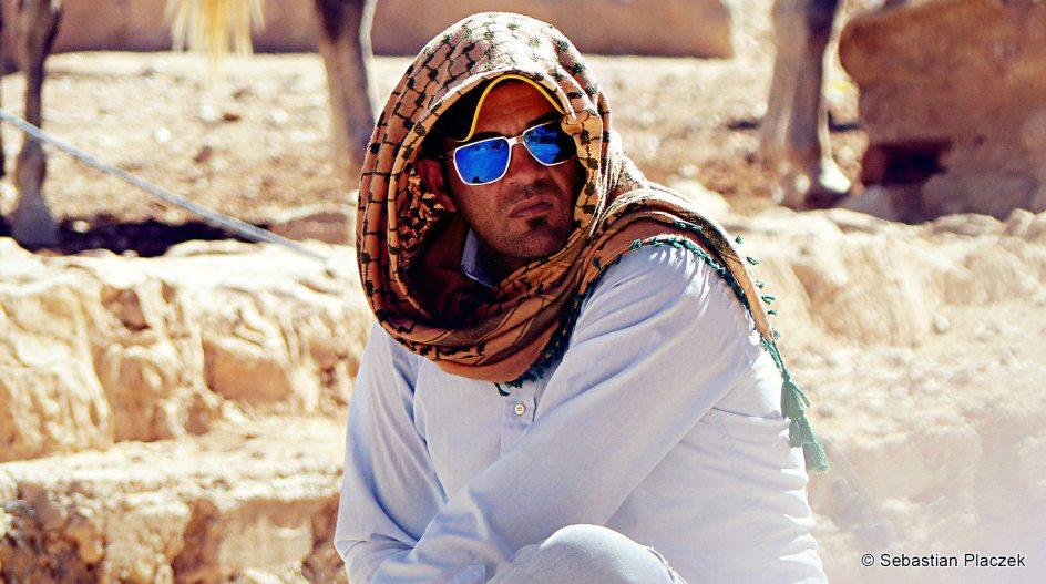 Jordania, wizyta w Petrze, Jordańczyk czeka na turystów