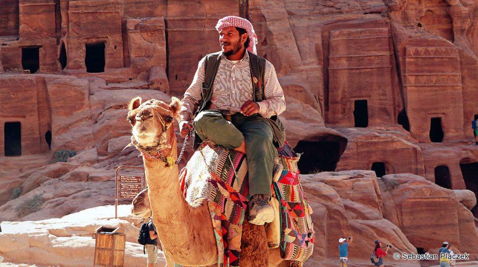 Jordania, starożytna Petra wpisana na listę światowego dziedzictwa kulturalnego UNESCO