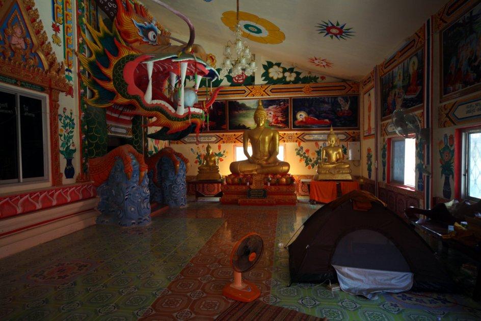 TAJLANDIA. Wat Pa Non Sawan, zdjęcia z podróży