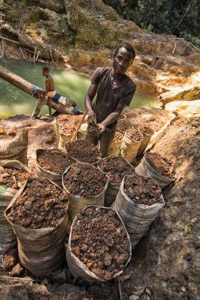 Kongo, diamenty