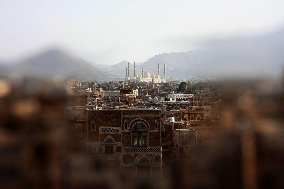 Jemen, Sana, meczet Saliha, zdjęcia z podróży do Jemenu