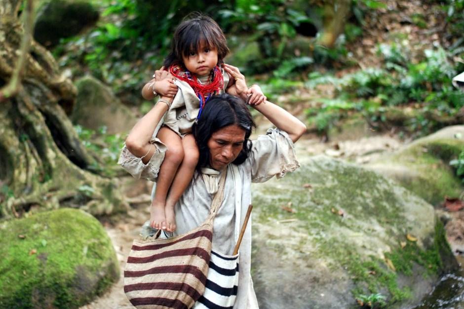 Kolumbia, Indianie, Sierra Nevada, zdjęcia z podróży