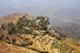 Jemen, góry Haraz, trekking, Al Hajjar, foto