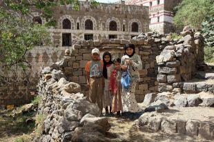 Jemen, dzieci z Al Hajjar (Al Hadżar)